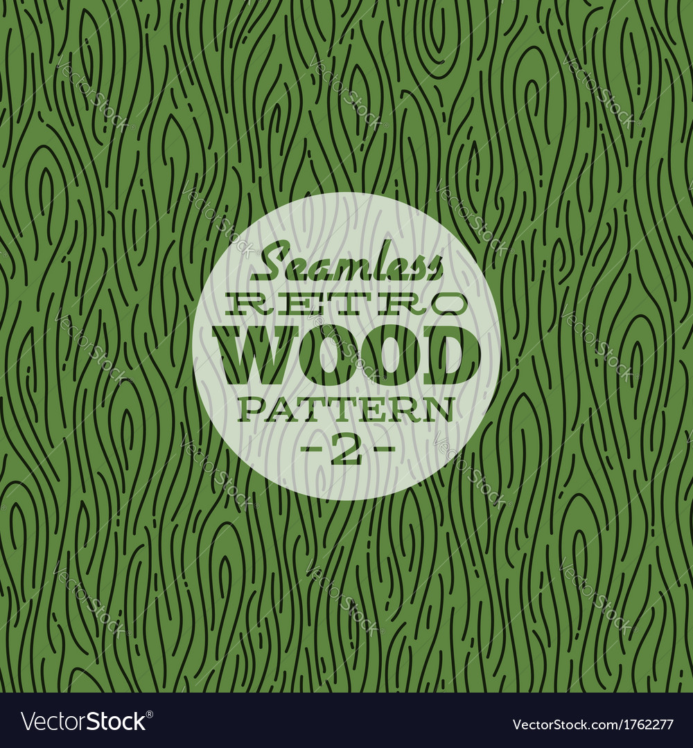 Retro wood seamless pattern vector | Price: 1 Credit (USD $1)