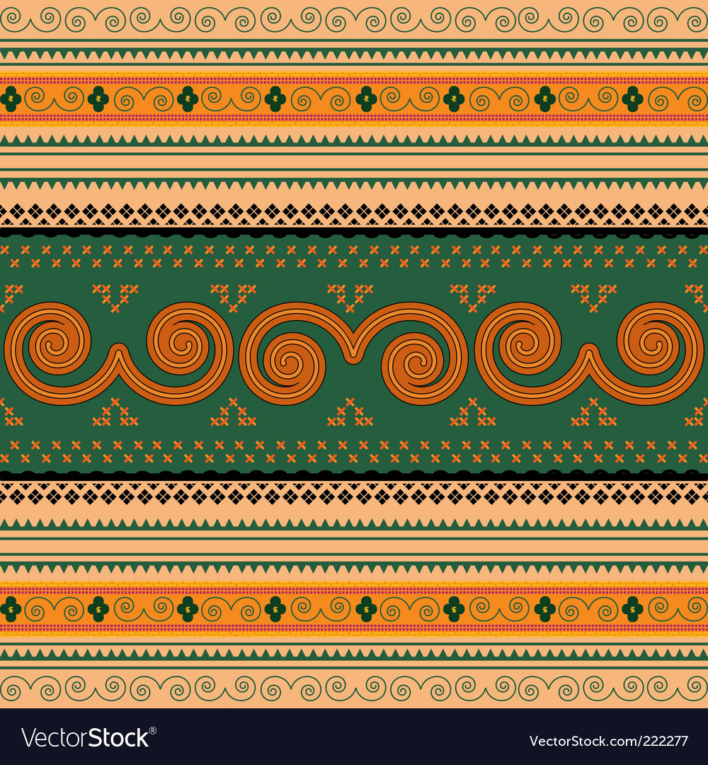Thailand traditional pattern vector | Price: 1 Credit (USD $1)