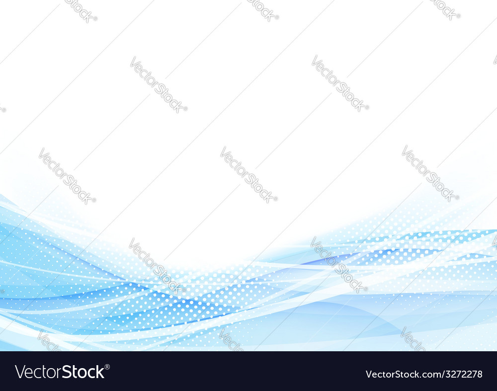 Abstract swoosh waves dotted hi-tech background vector | Price: 1 Credit (USD $1)