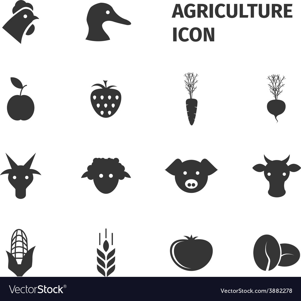 Agriculture icon vector | Price: 1 Credit (USD $1)