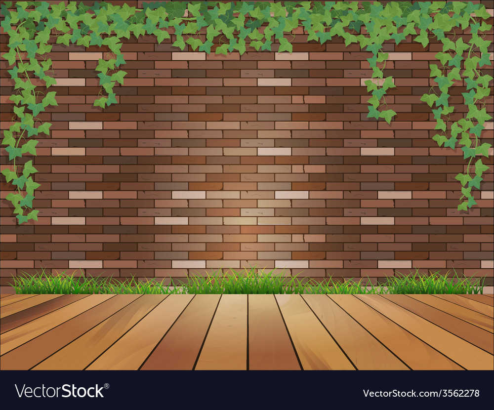 Background brick wall vector | Price: 1 Credit (USD $1)