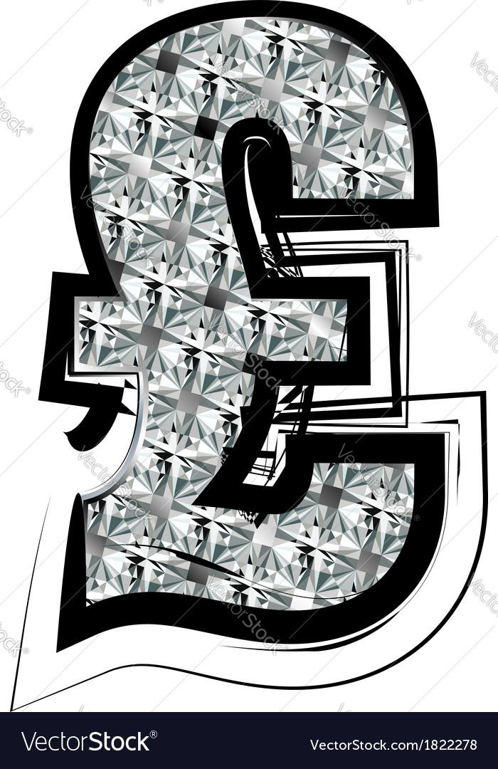 Diamond font symbol vector   Price: 1 Credit (USD $1)
