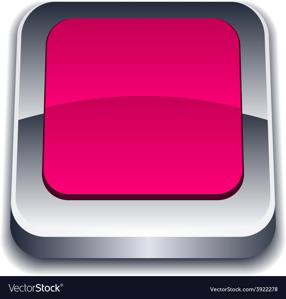 Glossy 3d button vector | Price: 1 Credit (USD $1)