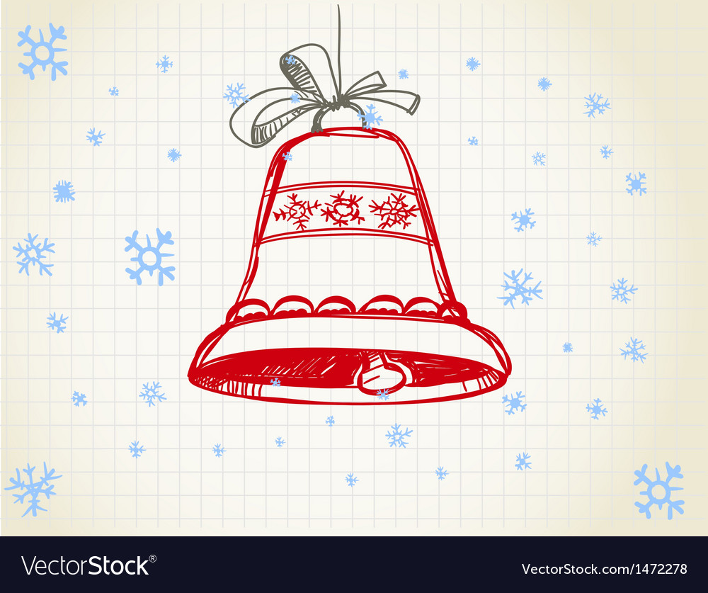 Jingle bells vector | Price: 1 Credit (USD $1)