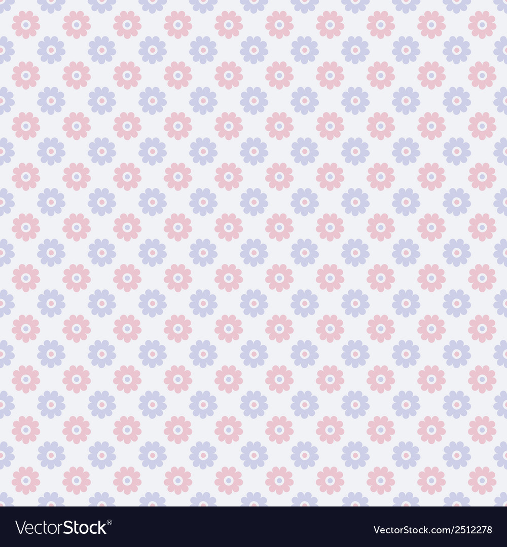 Nice seamless pattern tiling sweet red blue and vector | Price: 1 Credit (USD $1)
