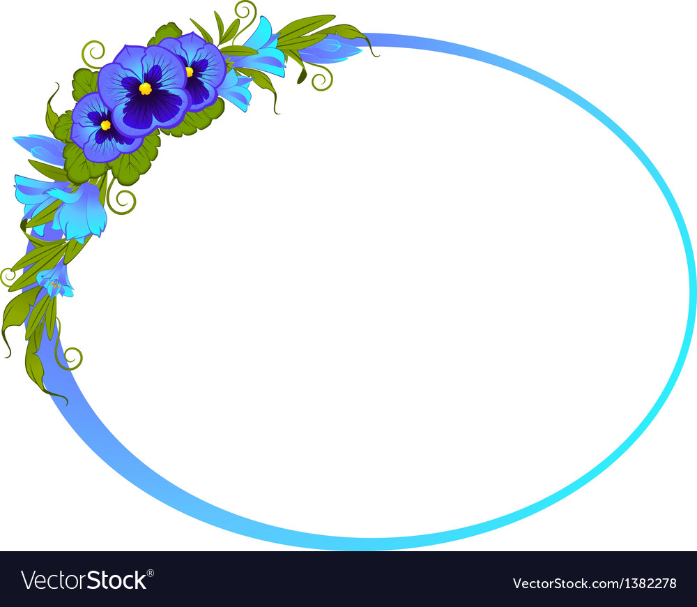 Ornate floral frame background vector | Price: 1 Credit (USD $1)