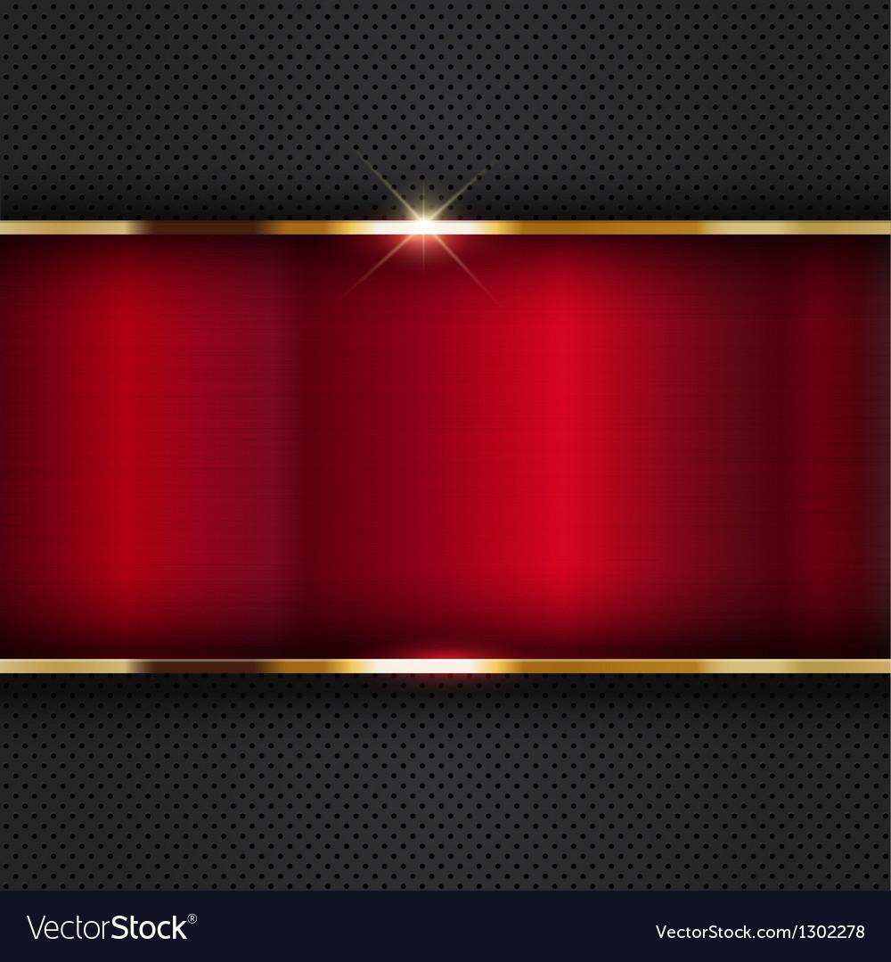 Red metallic background vector | Price: 1 Credit (USD $1)