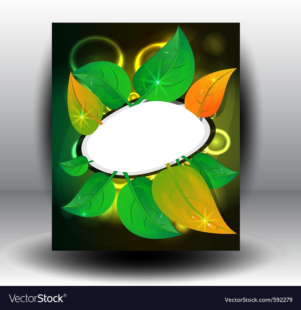 Banner petal vector | Price: 1 Credit (USD $1)