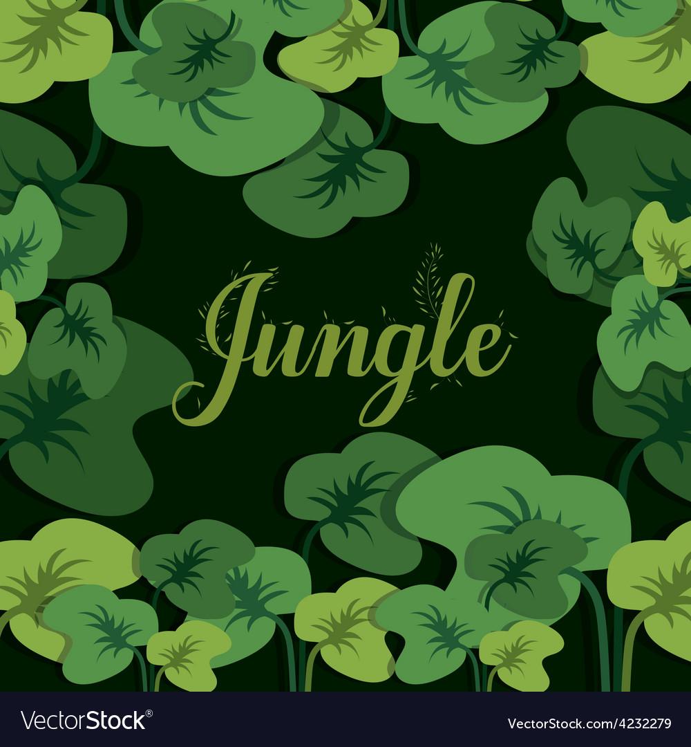 Jungle design vector | Price: 1 Credit (USD $1)