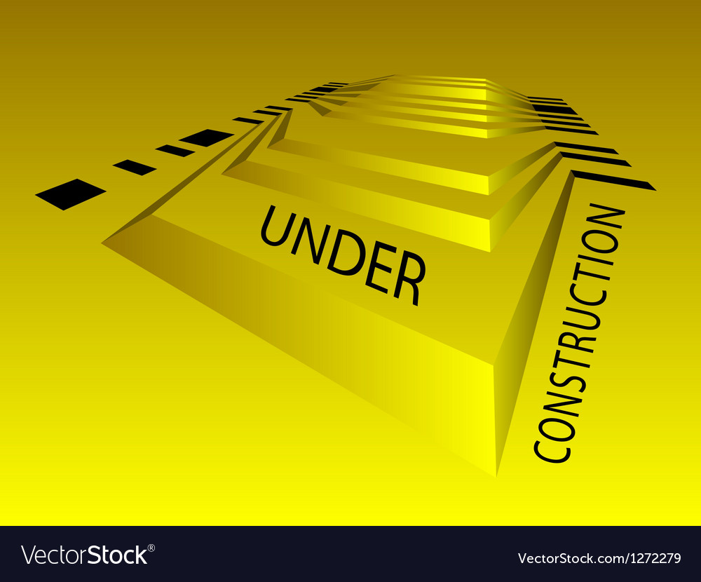 Under construction background vector | Price: 1 Credit (USD $1)