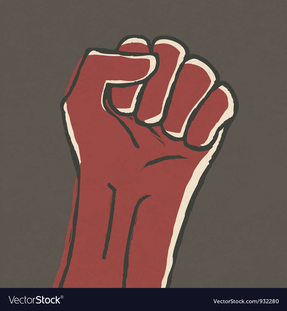 Fist symbol vector | Price: 1 Credit (USD $1)