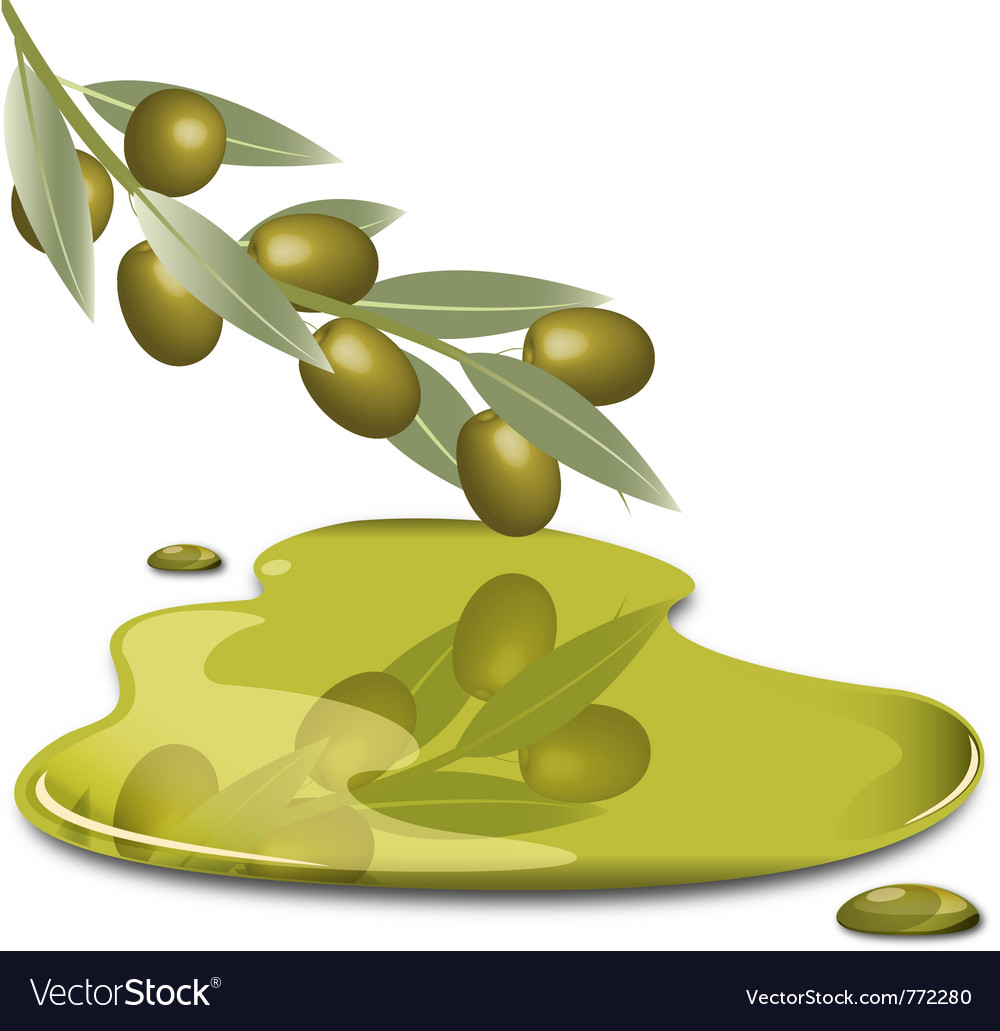 Olive butter vector | Price: 1 Credit (USD $1)