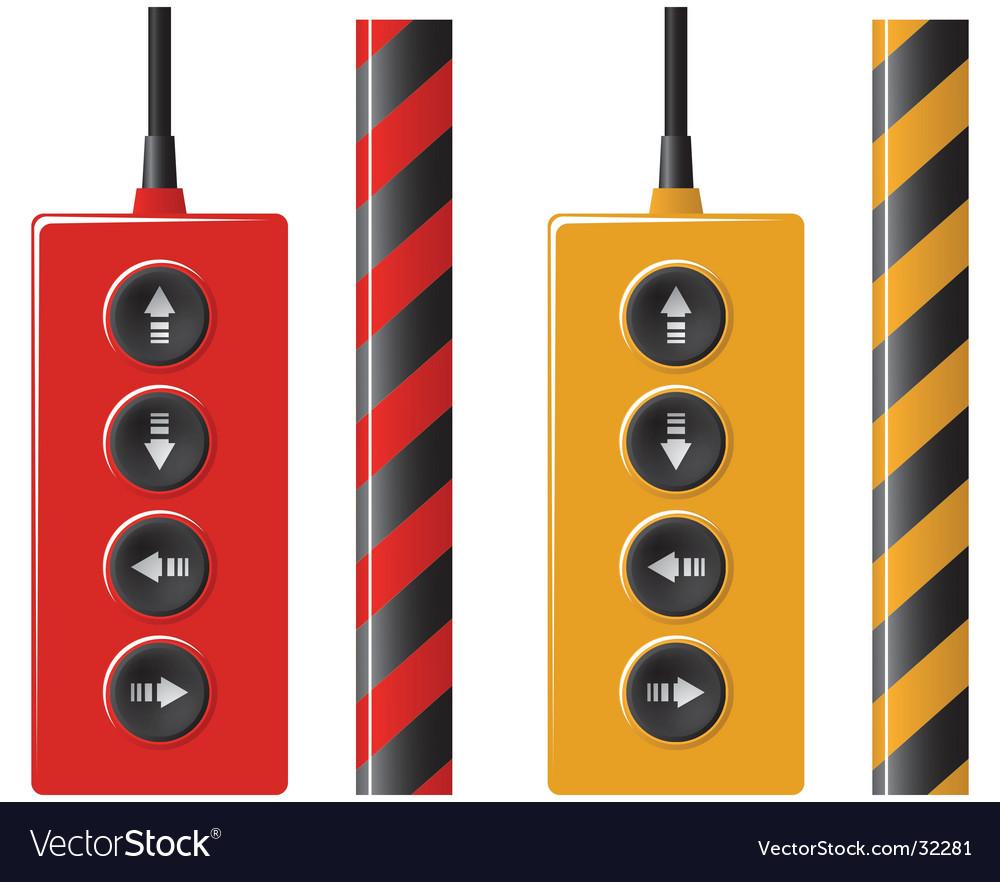 Elevator remote control vector | Price: 1 Credit (USD $1)