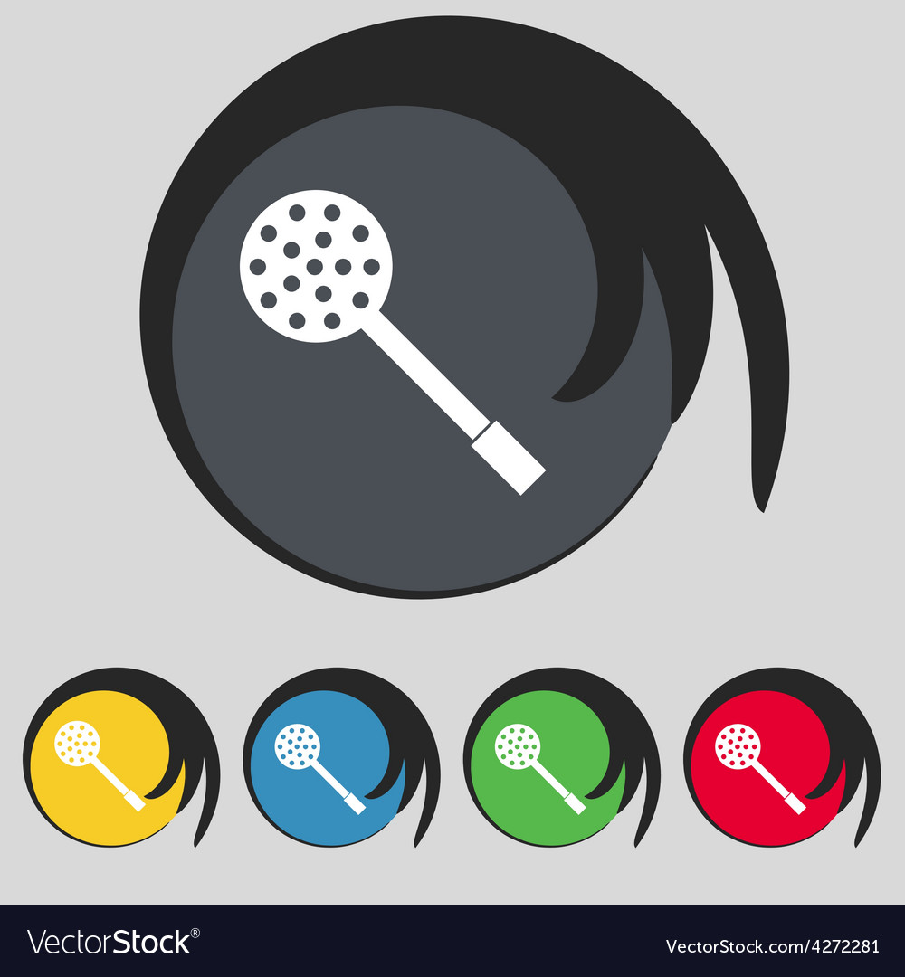 Kitchen appliances icon sign symbol on five vector | Price: 1 Credit (USD $1)