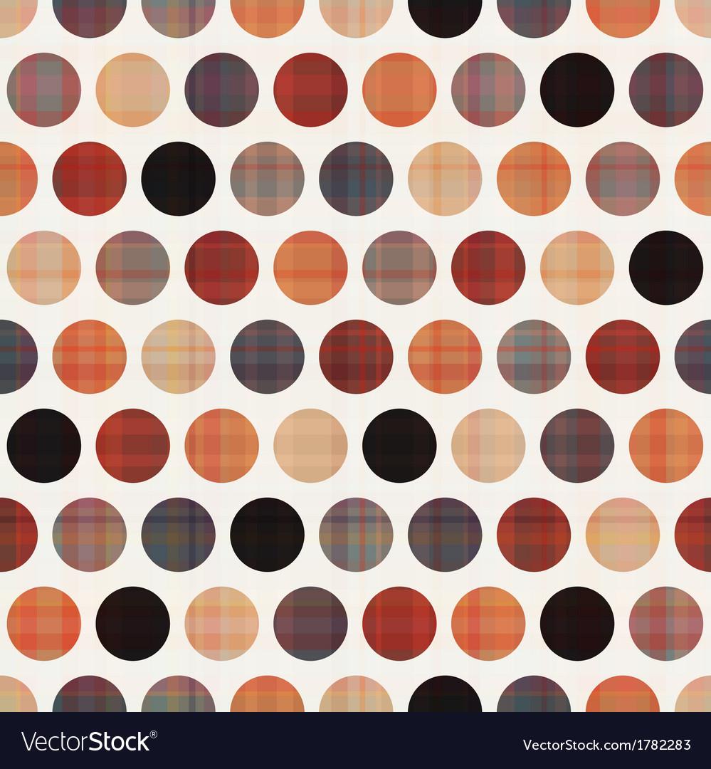 Seamless polka dots pattern texture vector   Price: 1 Credit (USD $1)