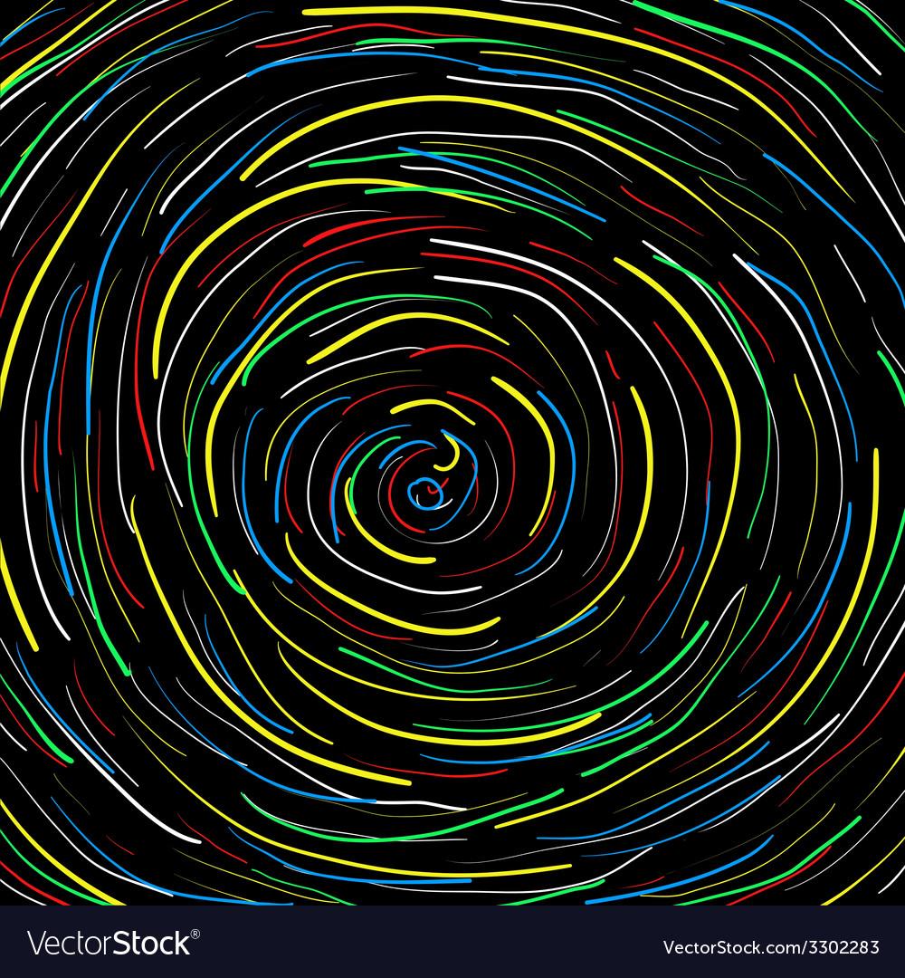 Spiral black background vector   Price: 1 Credit (USD $1)