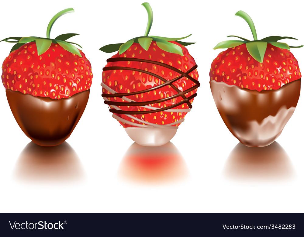Strawberry in liquid vector   Price: 1 Credit (USD $1)