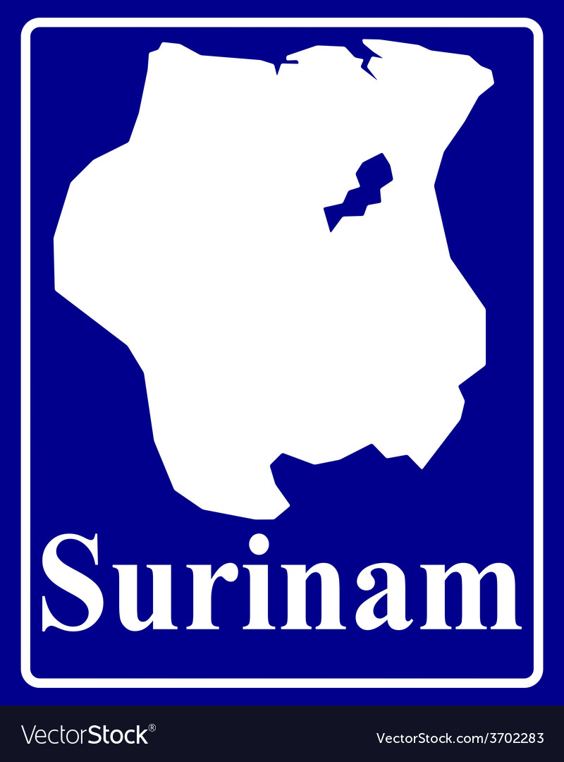 Surinam vector | Price: 1 Credit (USD $1)