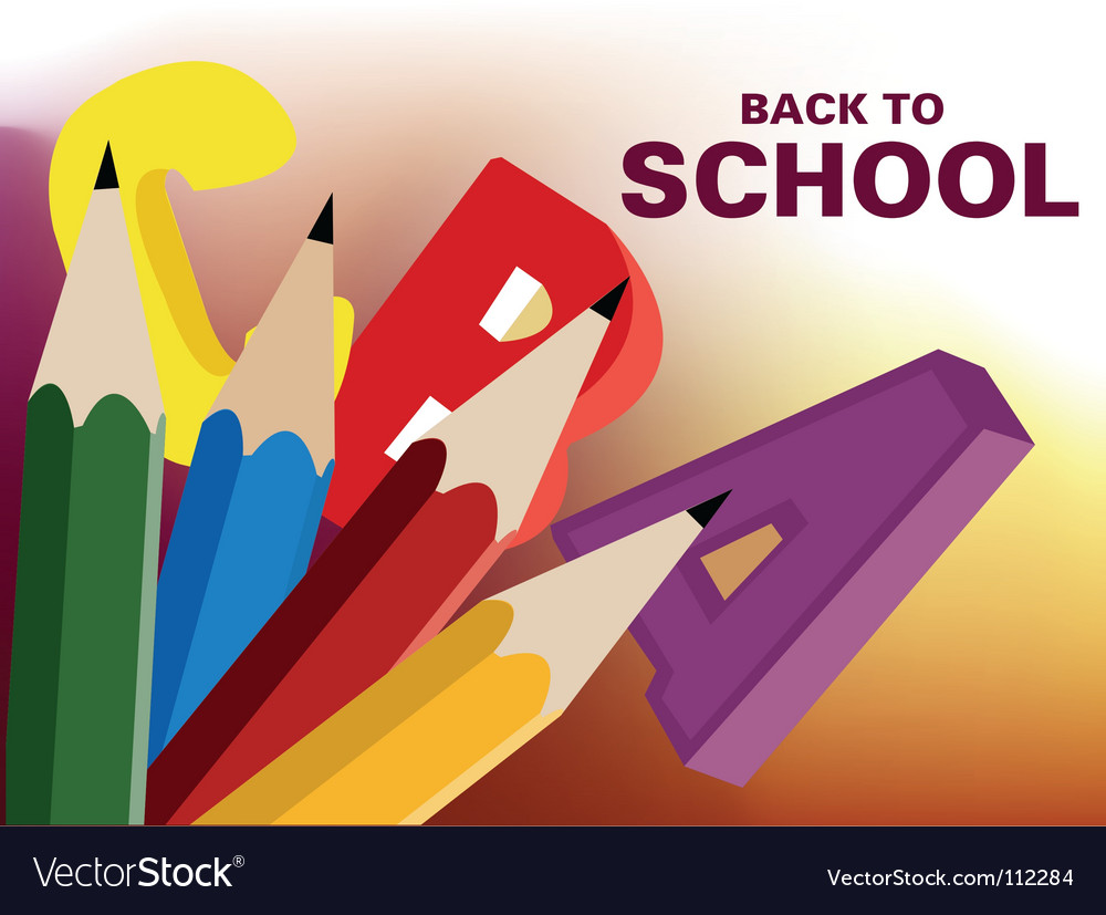Back to school background vector   Price: 1 Credit (USD $1)