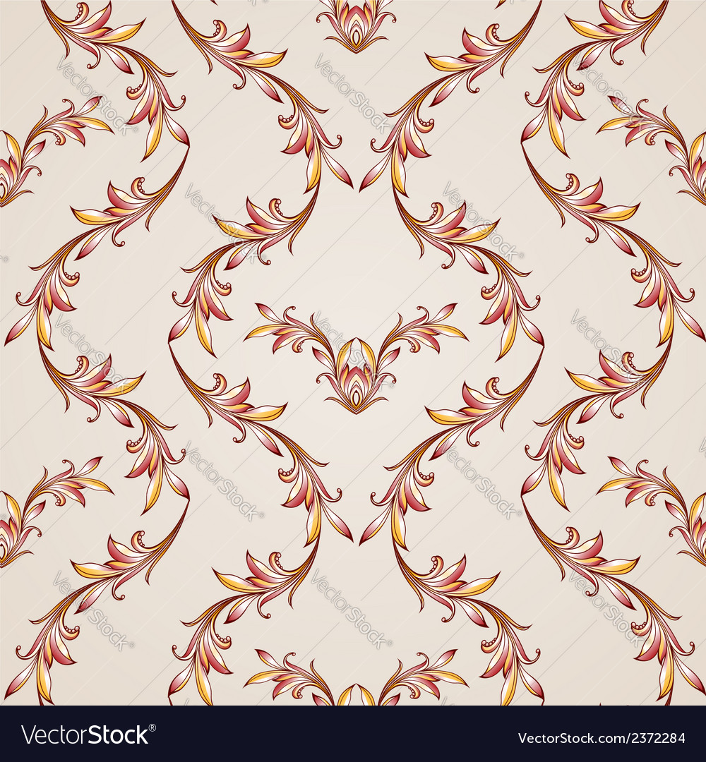 Seamless floral pattern in pastel shades vector | Price: 1 Credit (USD $1)