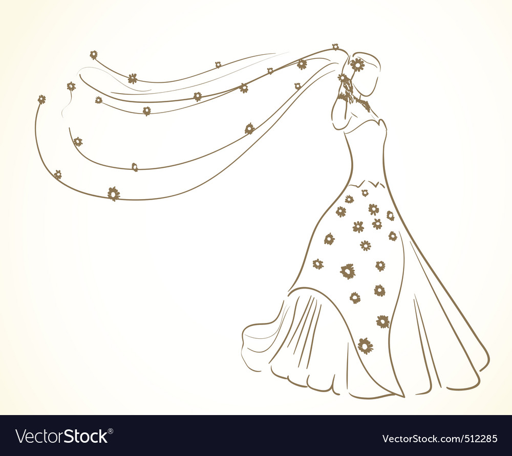 Bride to be vector | Price: 1 Credit (USD $1)