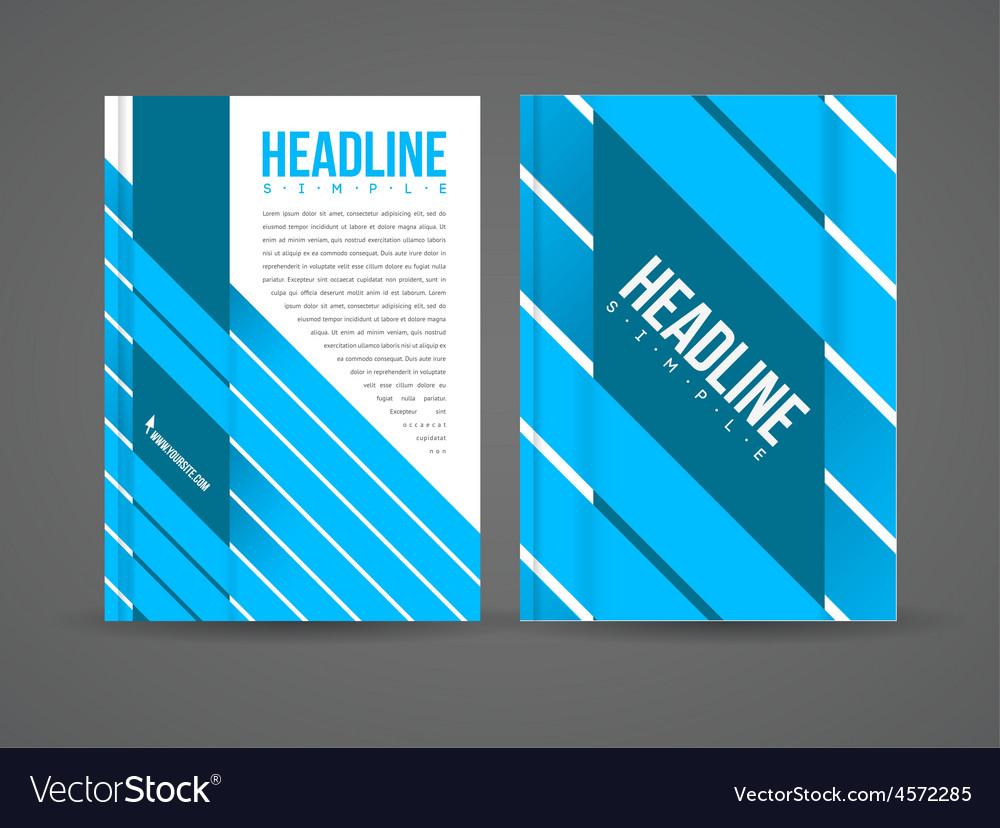 Design flyer template vector   Price: 1 Credit (USD $1)