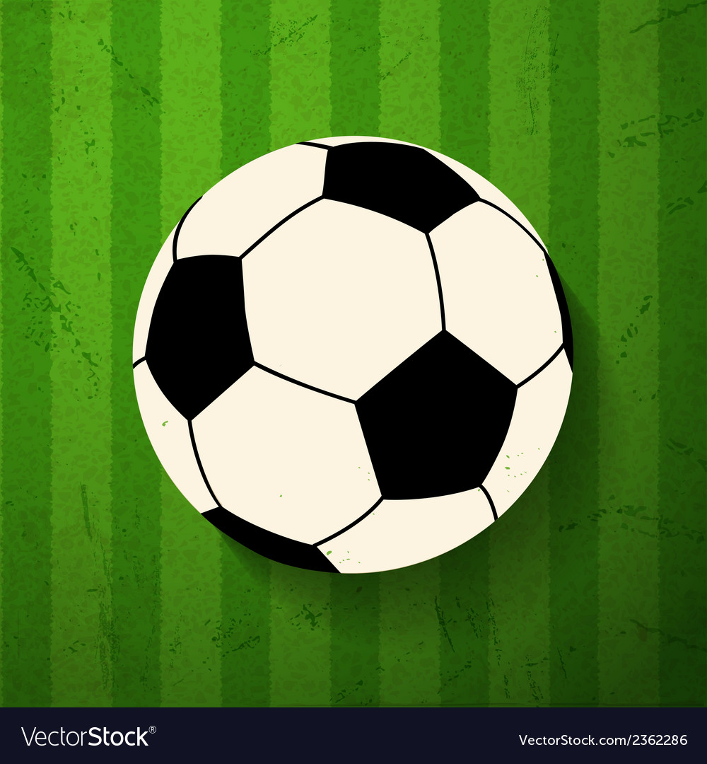 Football and grunge vector | Price: 1 Credit (USD $1)