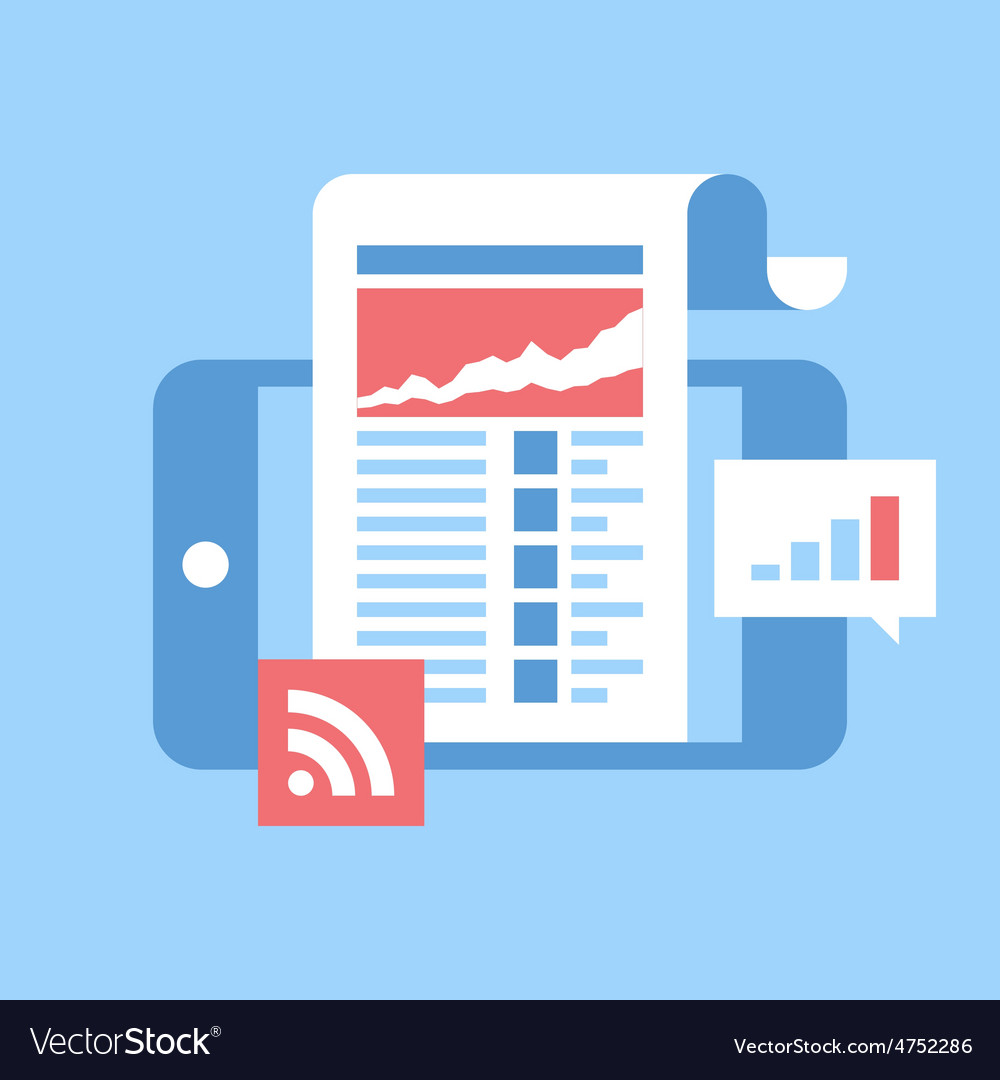Mobile news vector   Price: 1 Credit (USD $1)