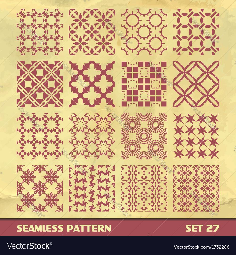 Seamless vintage pattern vector | Price: 1 Credit (USD $1)