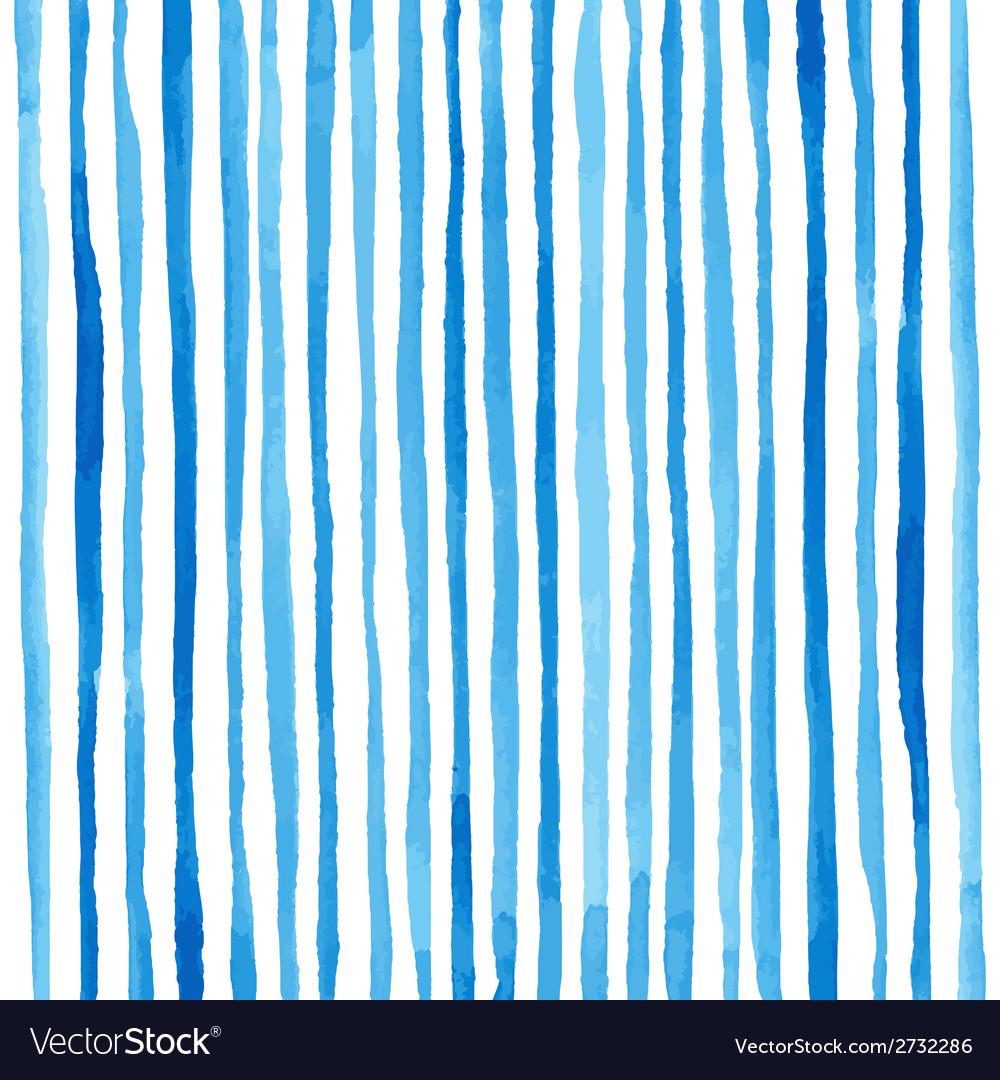 Watercolor stripes pattern vector | Price: 1 Credit (USD $1)
