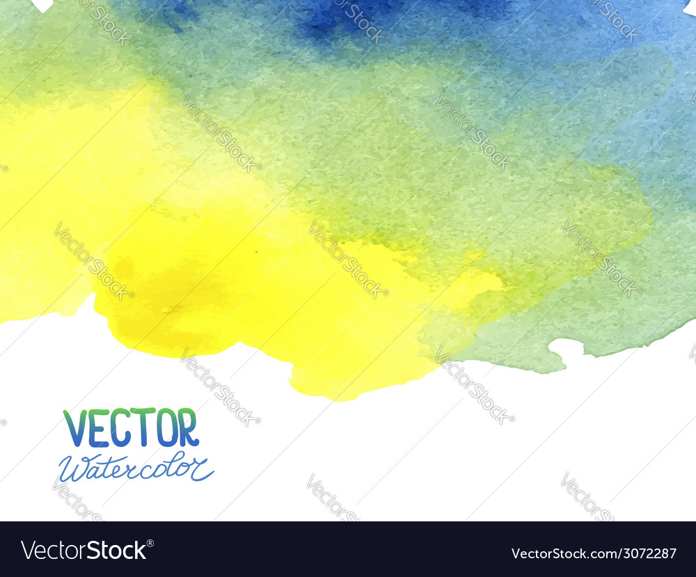 Abstract watercolor background for your design vector | Price: 1 Credit (USD $1)