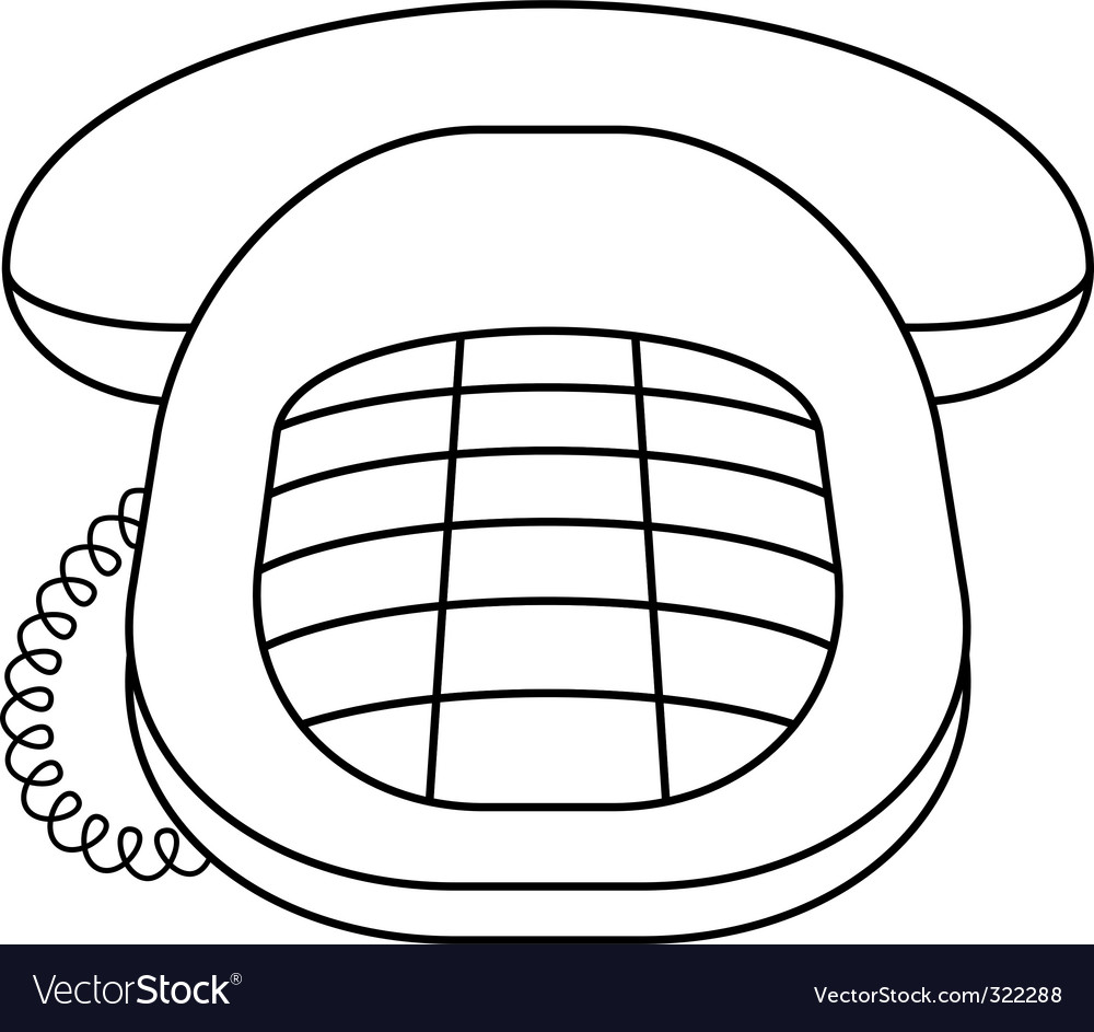 Phone desktop vector | Price: 1 Credit (USD $1)