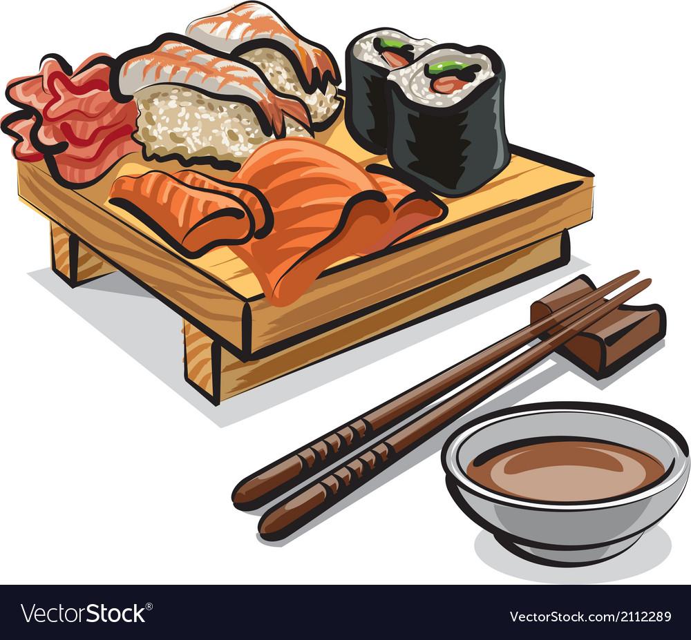 Japan sushi vector | Price: 3 Credit (USD $3)