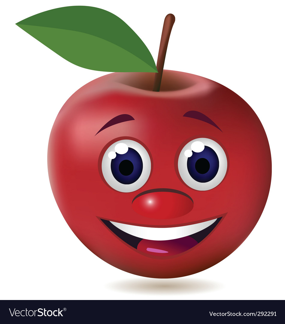Apple character vector | Price: 1 Credit (USD $1)