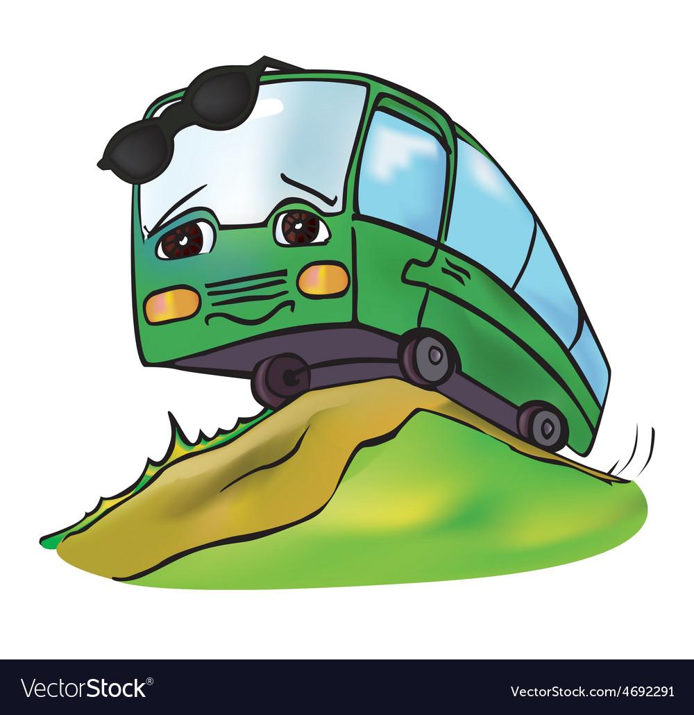 Bus summer vector | Price: 1 Credit (USD $1)