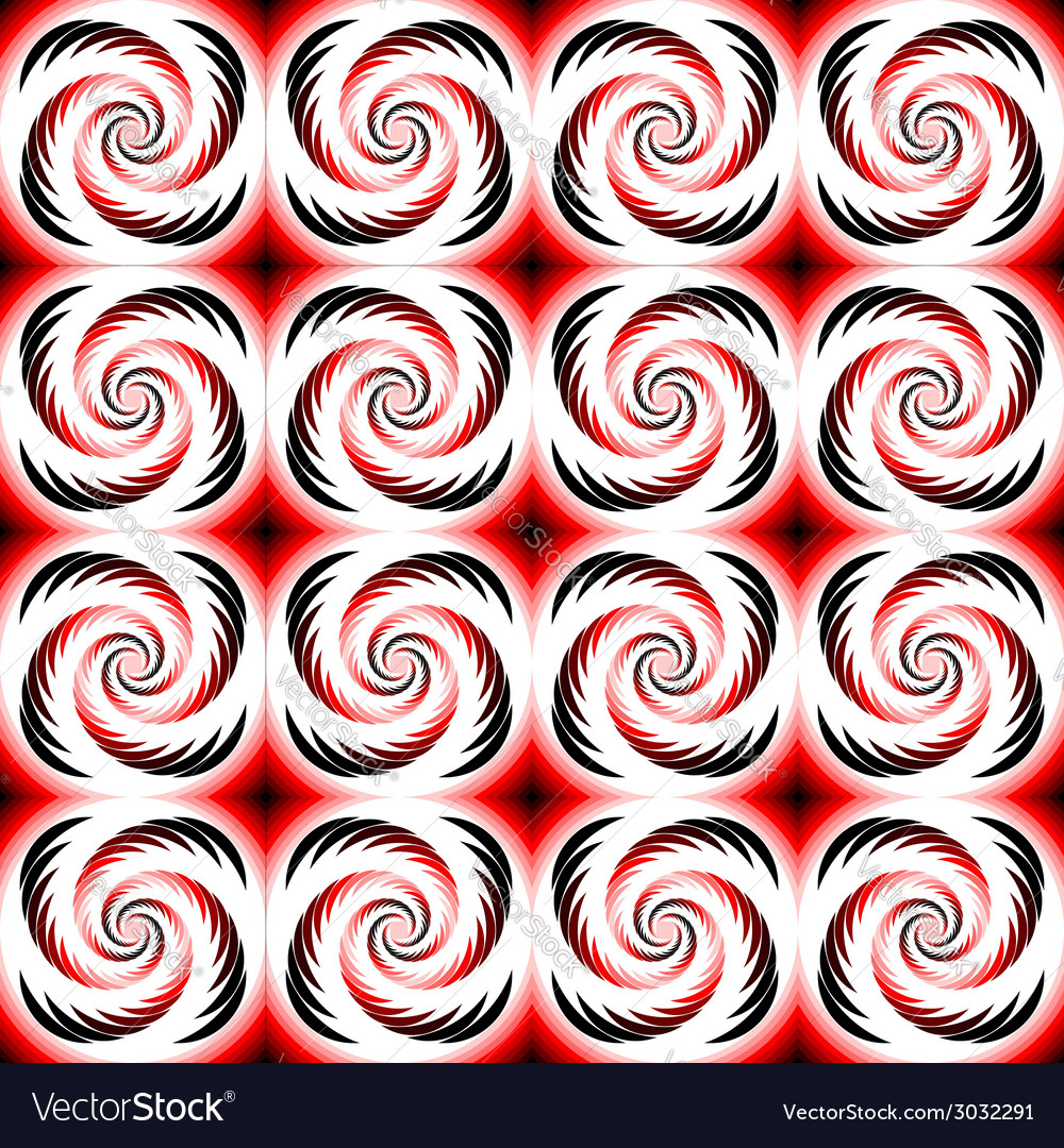 Design seamless colorful spiral geometric pattern vector | Price: 1 Credit (USD $1)