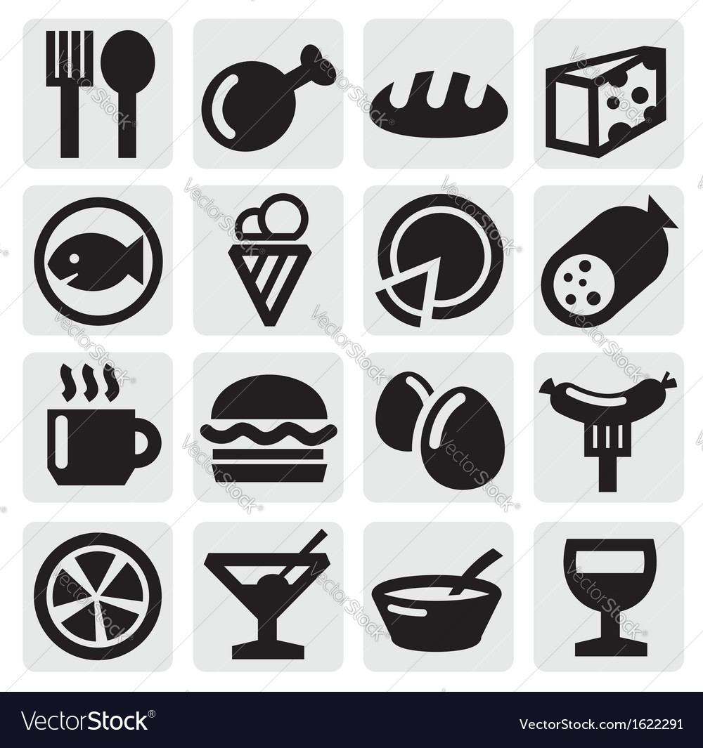 Food icon vector | Price: 1 Credit (USD $1)