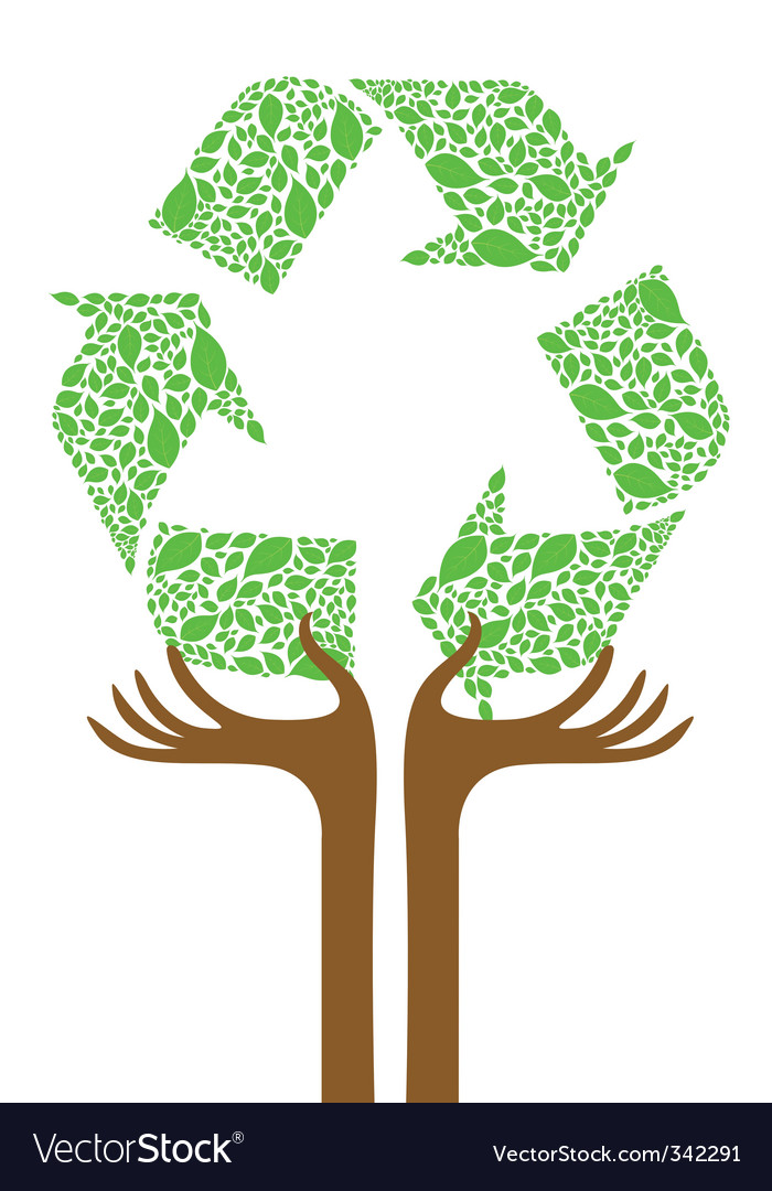 Recycle tree vector | Price: 1 Credit (USD $1)
