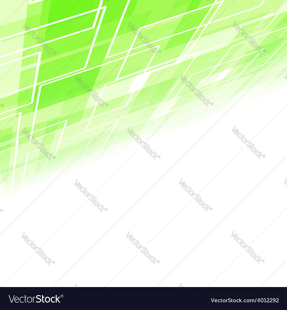 Abstract green tile perspective backdrop vector | Price: 1 Credit (USD $1)
