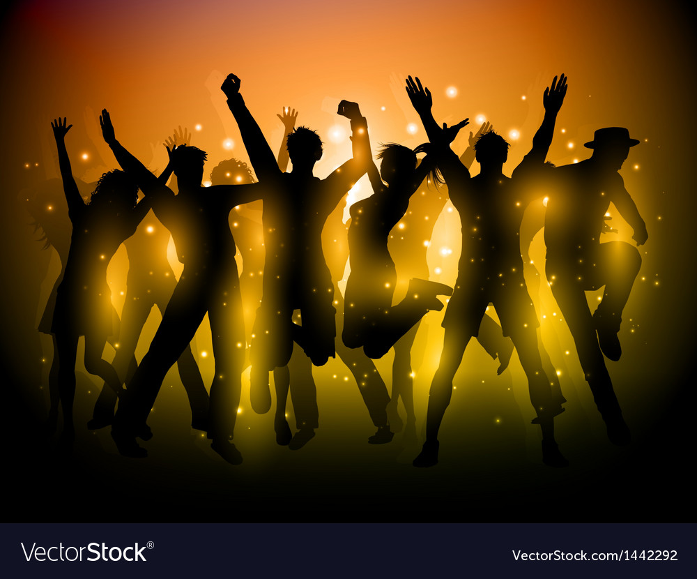 Party people background 1306 vector | Price: 1 Credit (USD $1)