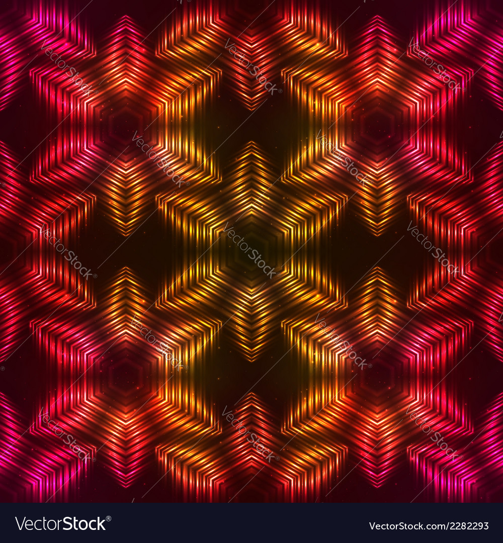 Fire red abstract seamless pattern vector | Price: 1 Credit (USD $1)