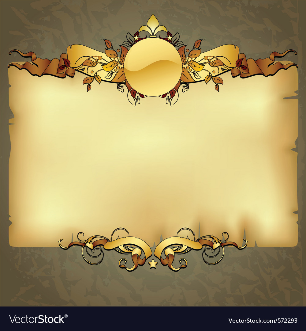 Ornate frame vector | Price: 1 Credit (USD $1)