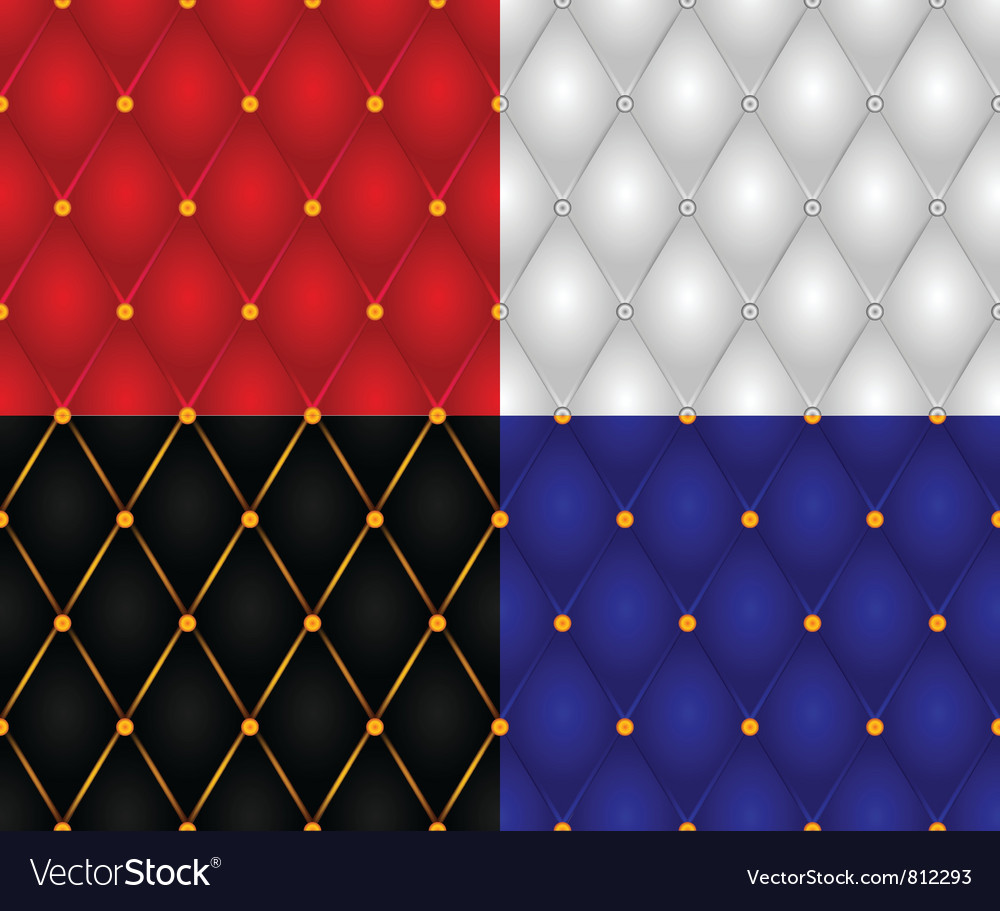 Set of seamless casing wall textures vector | Price: 1 Credit (USD $1)