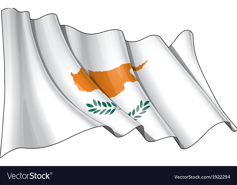 Cyprus flag grunge vector | Price: 1 Credit (USD $1)