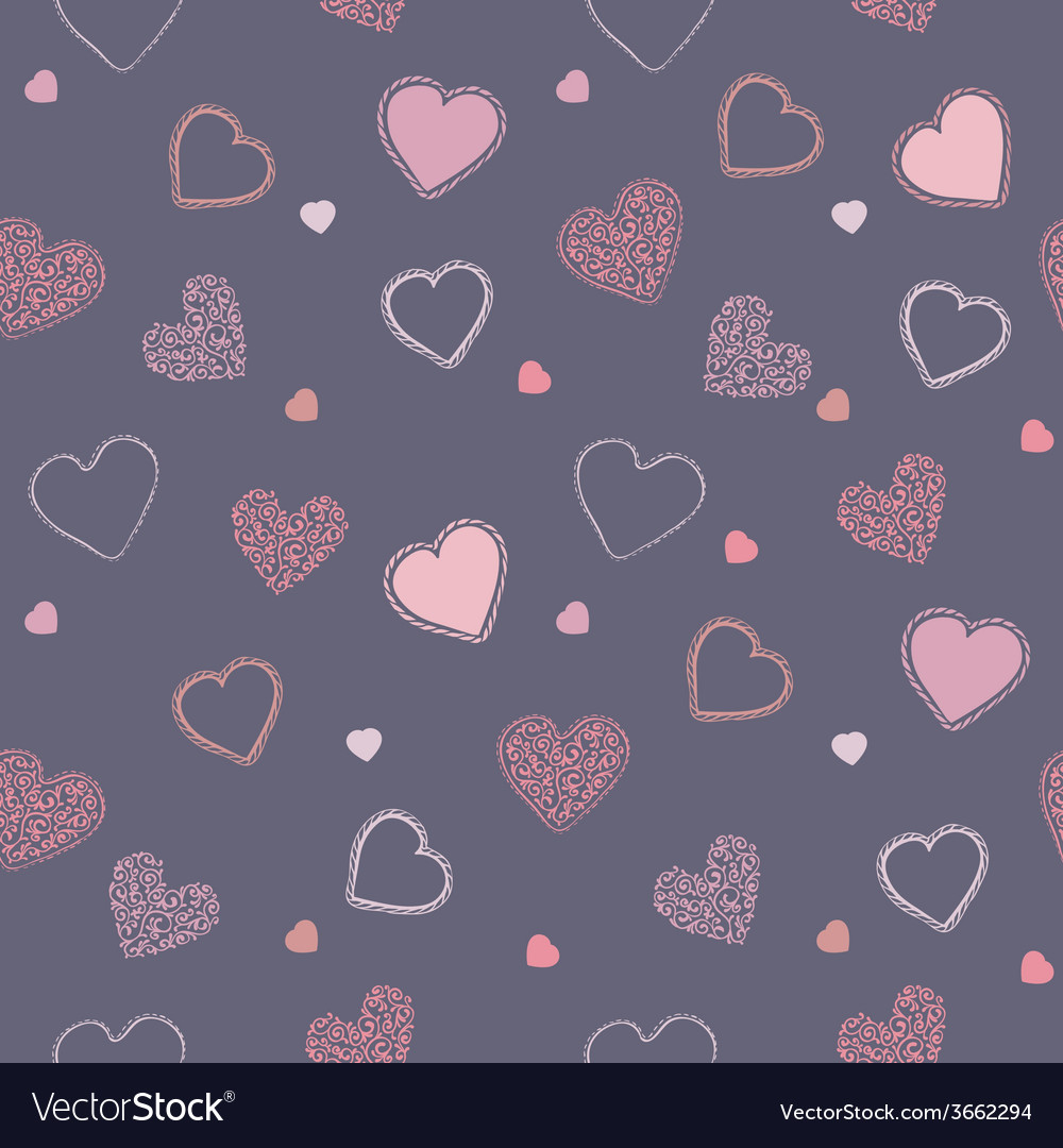Valentine blueberry pattern vector | Price: 1 Credit (USD $1)