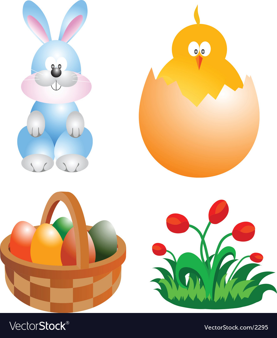 Easter clip-art vector | Price: 3 Credit (USD $3)