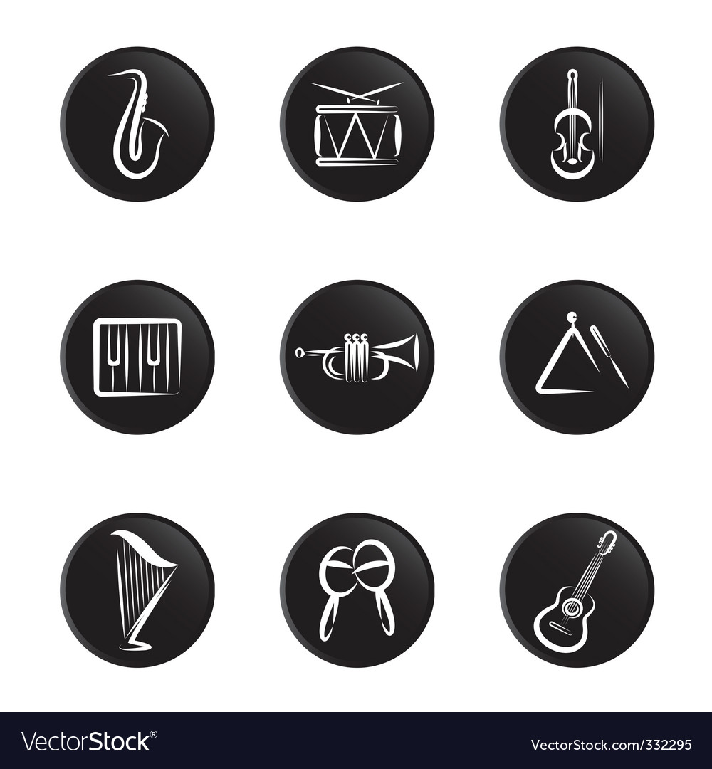 Instrument icon vector | Price: 1 Credit (USD $1)
