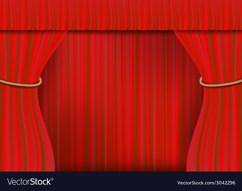 Rope frame curtain full vector | Price: 1 Credit (USD $1)