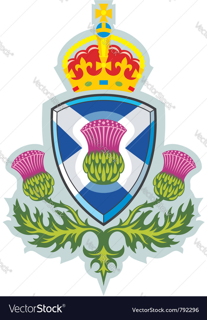 Symbol of scotland vector | Price: 1 Credit (USD $1)