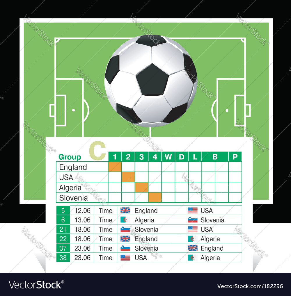 World cup 2010 vector | Price: 1 Credit (USD $1)